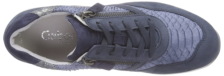 Gabor Shoes Gabor Comfort, Derby femme – Bleu (39 avio kombi