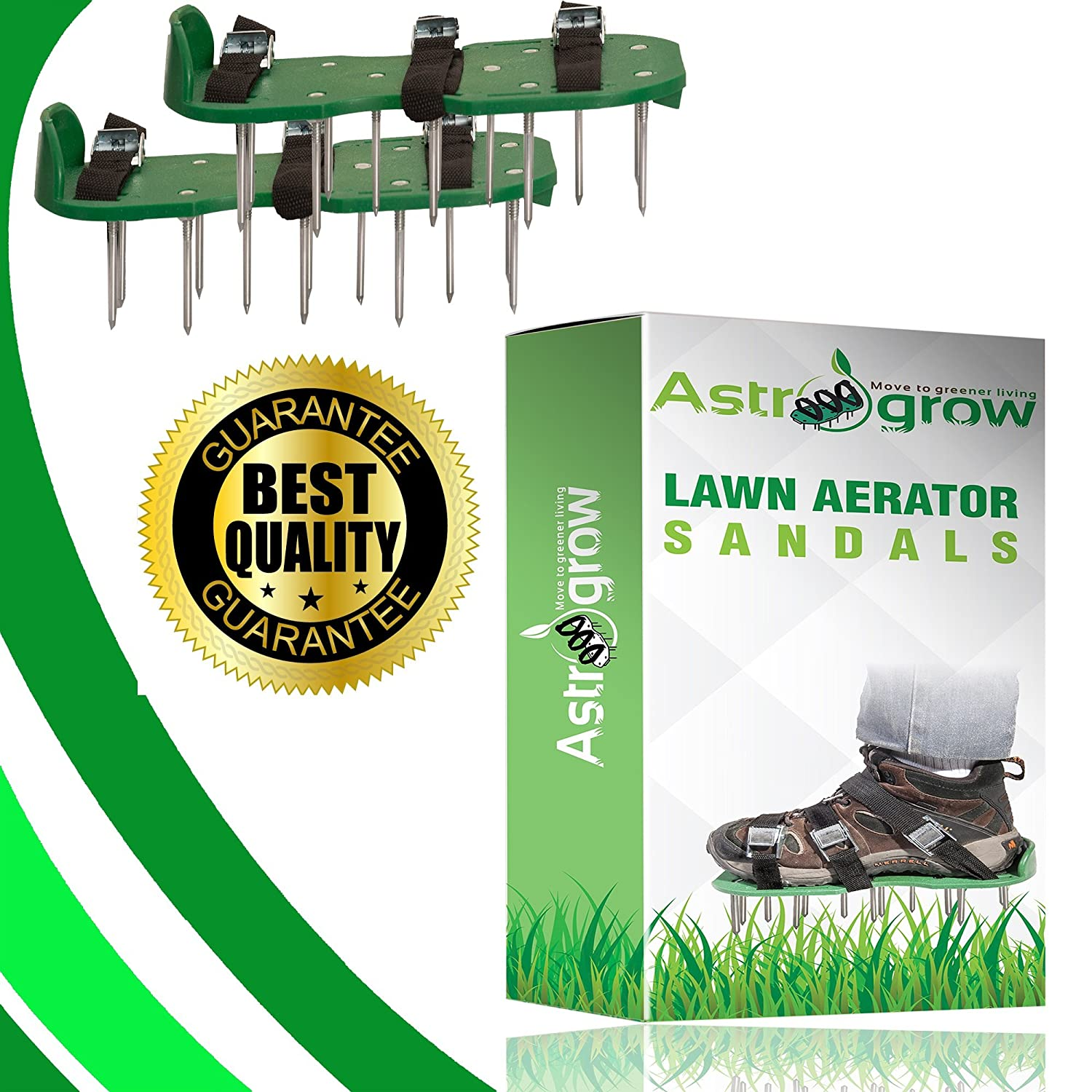 alpha-ene.co.jp Heavy Duty Spiked Aerator Sandals for Revive Lawn ...