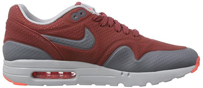 the best attitude 6329d 3a3f4 Nike Air Max 1 Ultra Moire, Men s Trainers, Cedar Dark Grey-Wolf Grey-Wolf  Grey, 11.5 UK  Amazon.co.uk  Shoes   Bags