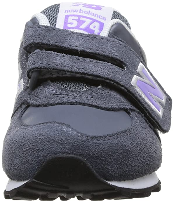 New Balance Kg574 Infant - Zapatos, color grey/violett, talla 22.5