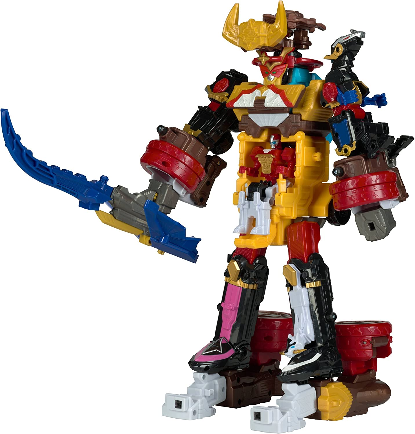 Power Rangers Ninja Steel ‑ DX Bullrider Megazord Action Figure