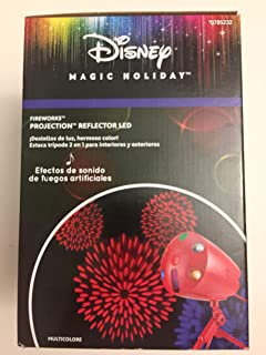 Disney Magic Holiday Multi-Function Fireworks and Sound LED Projector