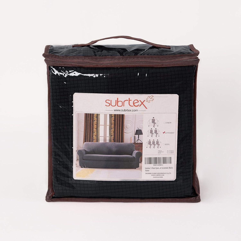 Subrtex Spandex Stretch 1-Piece Slipcovers sofa cover 24 Sofa, Off-White