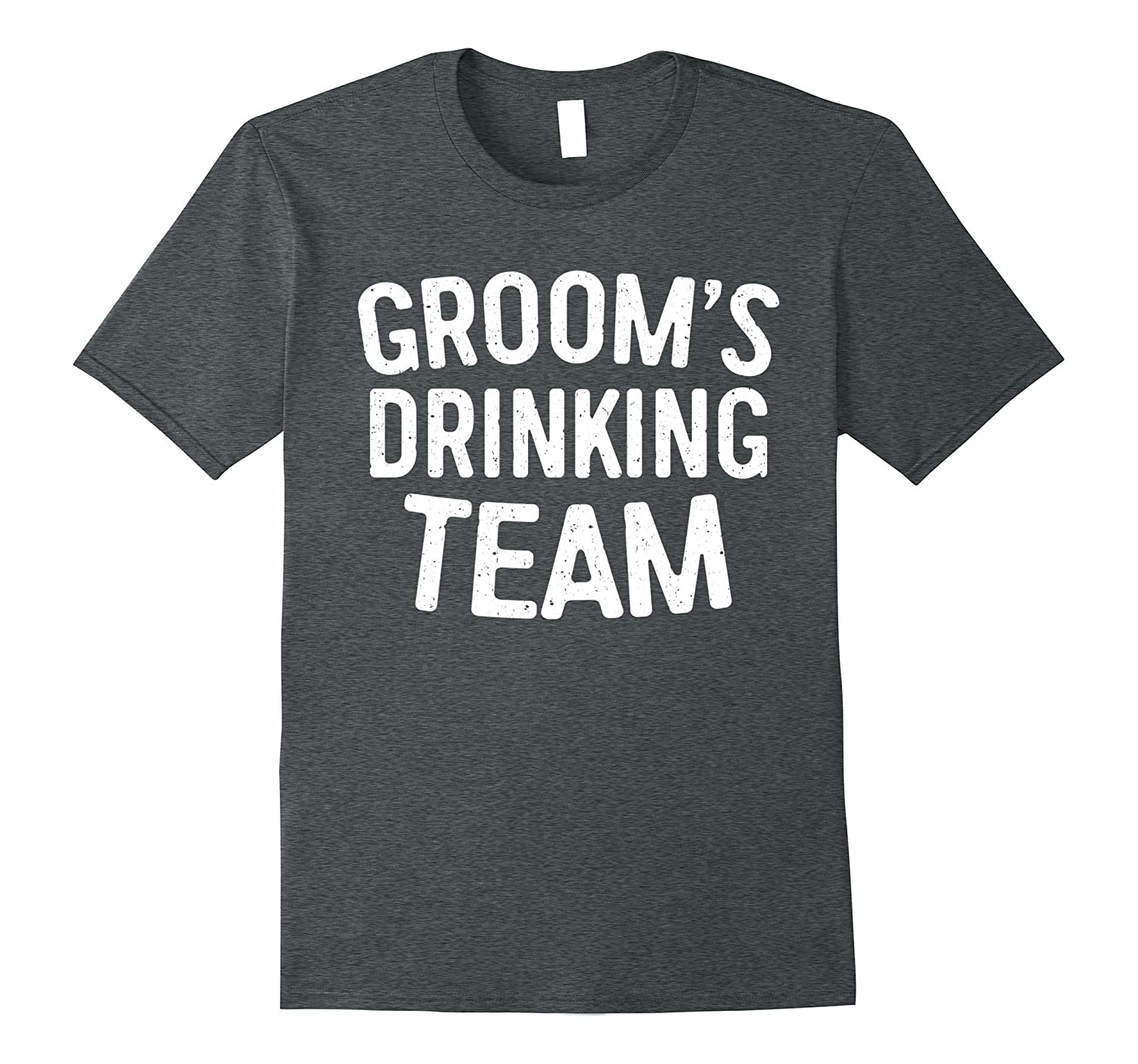 09ceb846 Mens Groom's Drinking Team T-Shirt Funny Bachelor Party Gift-RT ...