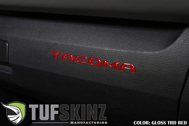 - Fits 2016-up Tacoma Glove Box Inserts 6 Piece Kit TufSkinz Camouflage