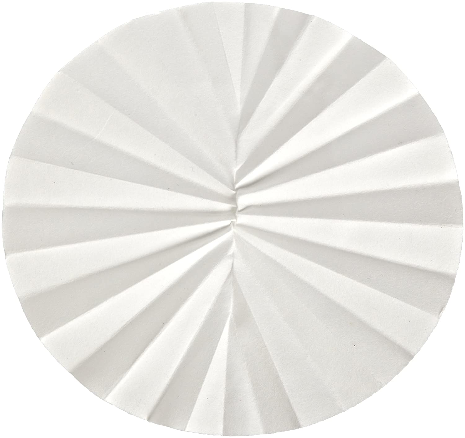 Whatman 10312244 Quantitative Folded Filter Paper, 8-10 Micron, Grade 598-1/2, 125mm Diameter (Pack of 50) GE Healthcare Life Sciences WHA-10312244