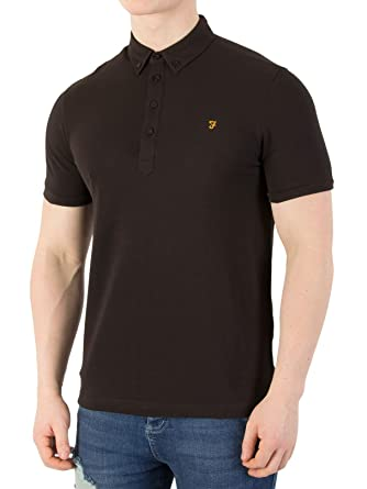 Farah Vintage Men s Merriweather Polo Shirt f7a36d980959
