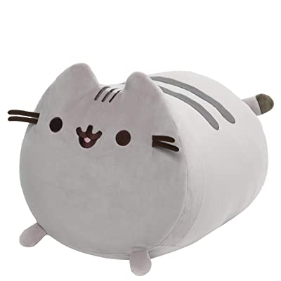"GUND Pusheen Squisheen Log Plush Stuffed Cat, 15"": Toys & Games"