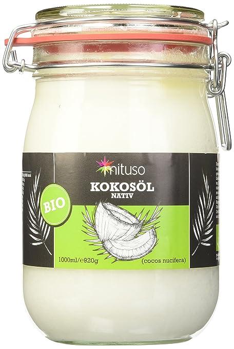 200 opinioni per MITUSO- Cocco Vergine Biologico- 1 Litro (1 X 1000 ml)