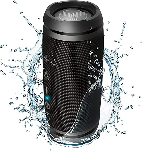 Mini Portable Bluetooth Speaker Waterproof  Wireless - 12W Stereo, 360°HD Sound w/Bass, TWS Dual Pairing