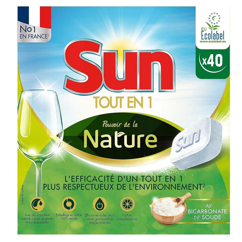Sun Tablets lavavajilla ecológica 40: Amazon.es: Salud y cuidado ...