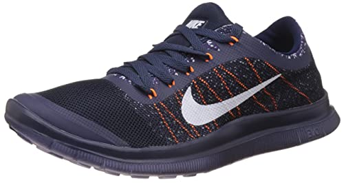reputable site f065d c6ed3 Image Unavailable. Image not available for. Colour  Nike Men s Free 3.0 Blue  and White Running Shoes ...