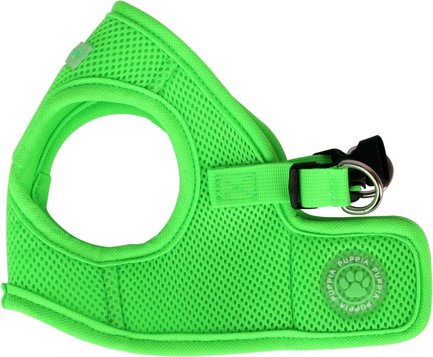 Puppia Neon Harnais pour Veste Souple Vert Taille XL