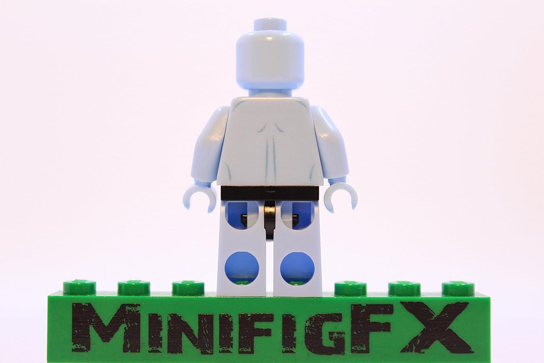 Lego DR MANHATTAN Custom Printed Minifig DC Superhero Watchmen Jon Osterman