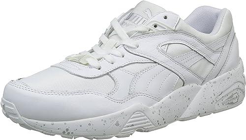 puma r698 speckle blanc