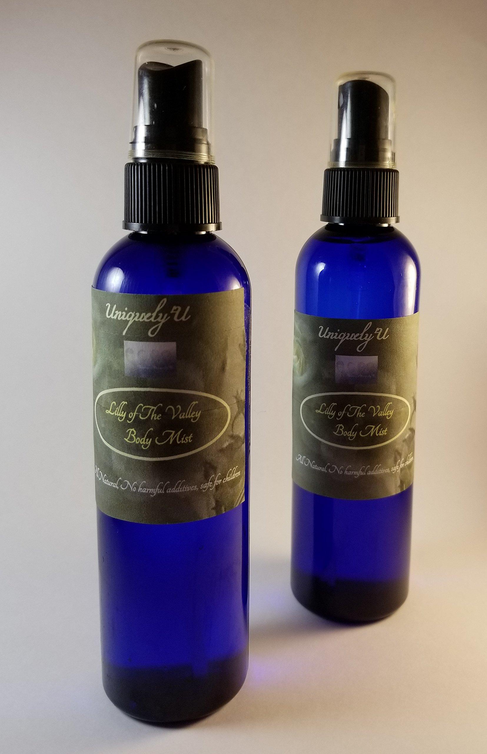 Uniquely'U Bath & Shower Body Mist, Room & Linen Spray DUO ''Lavender & Bali Mango''
