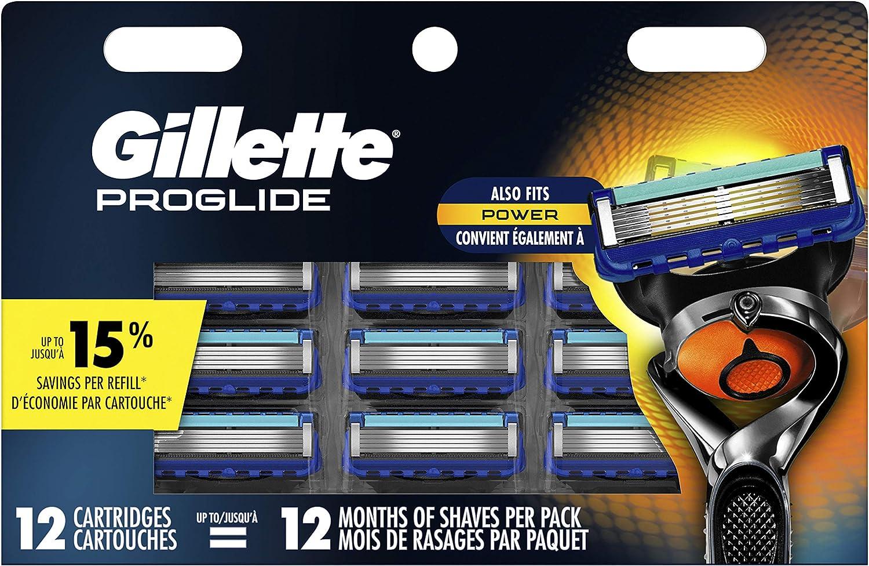 Gillette Fusion ProGlide Manual Cuchillas de maquinilla de afeitar hoja de repuesto, 6 hilos, maquinillas de afeitar para hombre/de los hombres: Amazon.es: Belleza