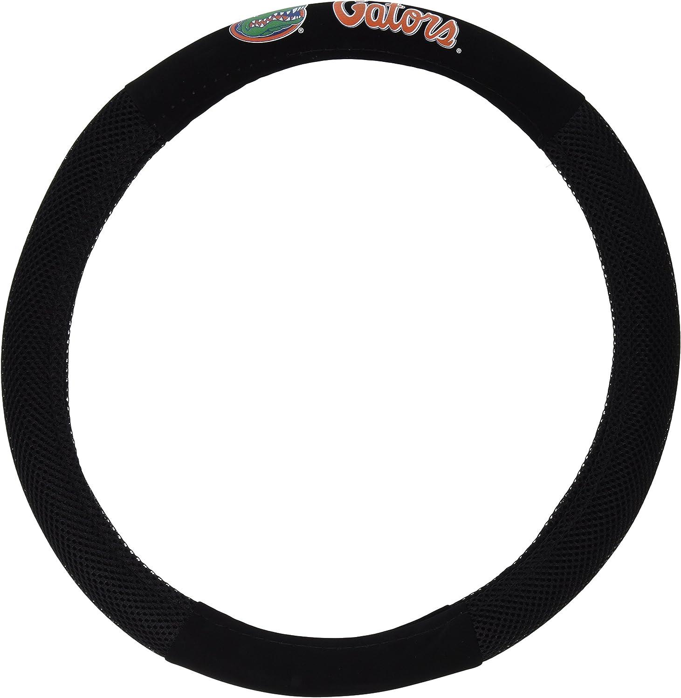 Fremont Die NCAA Poly-Suede Steering Wheel Cover