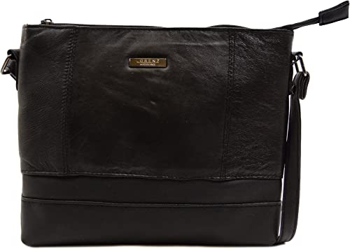 Across Body Bag Ladies Womens Soft Nappa Leather Shoulder