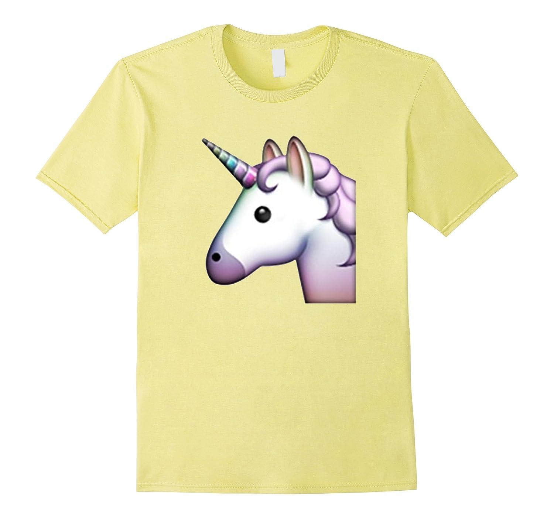 7a166f1b Unicorn Emoji Happy T-Shirt-TD – Teedep