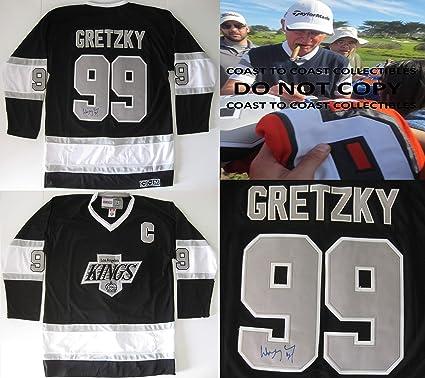 online retailer ed39f 54604 Wayne Gretzky, Los Angeles Kings, LA Kings, signed ...