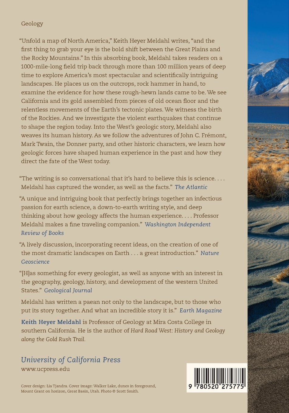 Amazon Com Rough Hewn Land A Geologic Journey From California To The Rocky Mountains 9780520275775 Keith Heyer Meldahl Books