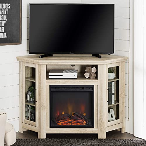 Lucas 48 inch Corner Fireplace TV Stand