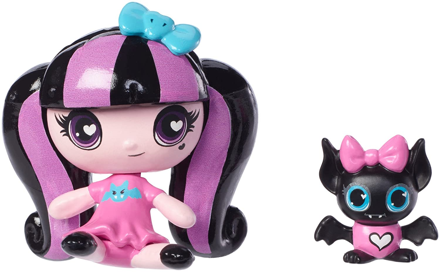 Monster High Minis Draculaura Doll & Count Fabulous Pet by Monster High