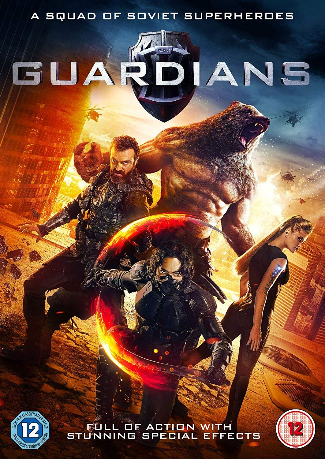 Guardians The Superheroes (2017) WebRip Hindi 1080p – 720p – DD5.1 – x264 – ESub
