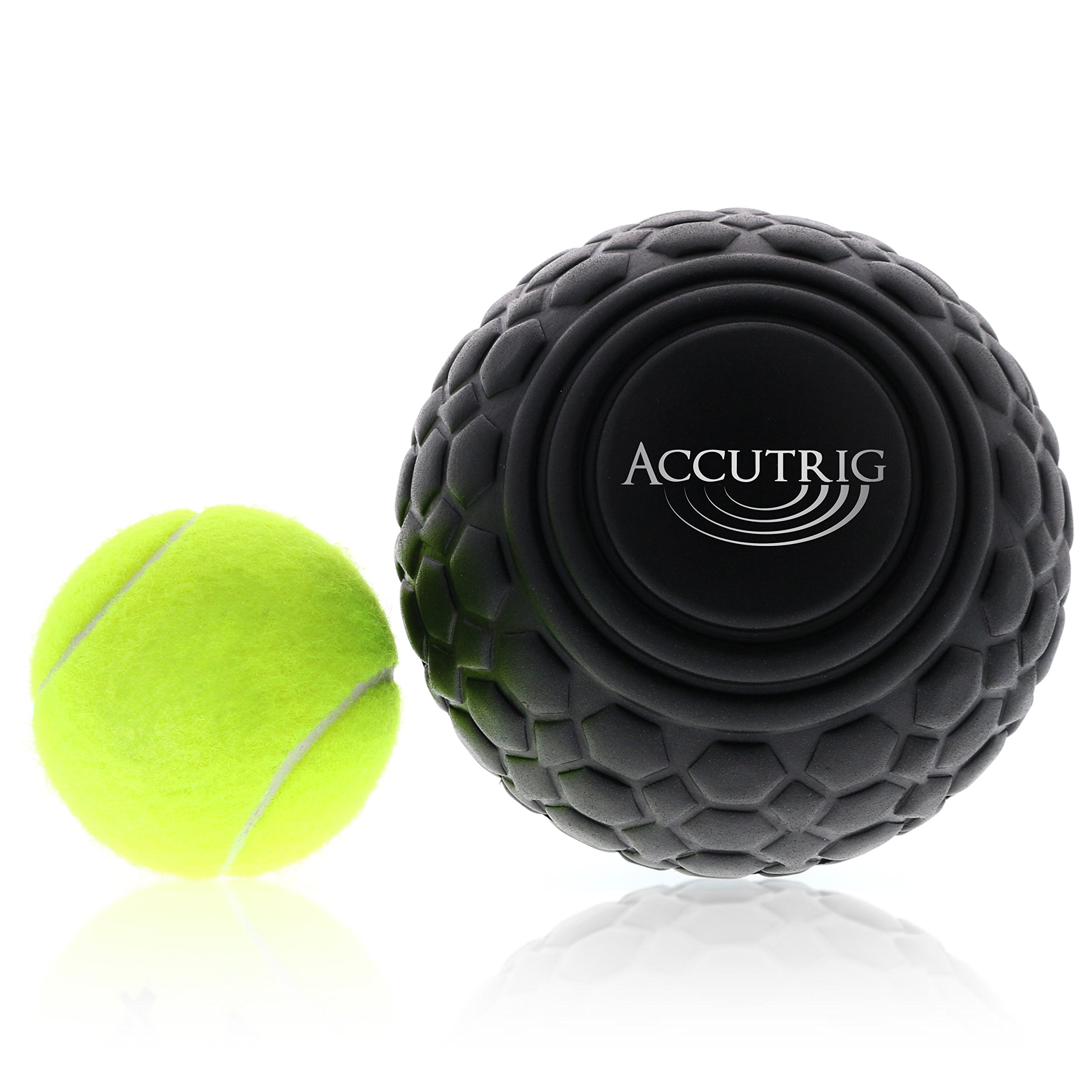 Trigger Point Massage Ball - Myofascial Release Therapy - Deep Tissue Massager - Natural Muscle Relaxer for Full Body, Back, Neck & Shoulder Relief by Accutrig by Accutrig (Image #5)