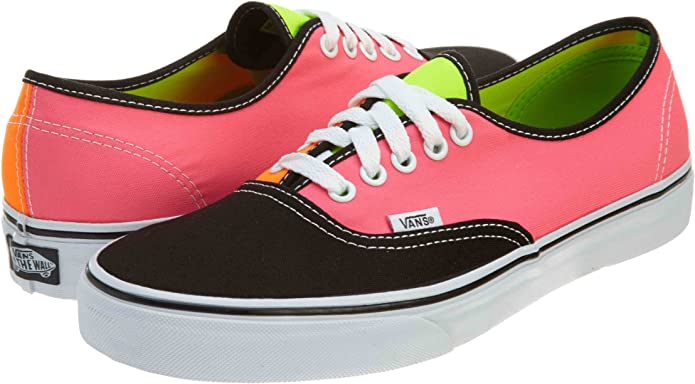 Vans Authentic Sneakers Damen Orange/Rosa/Schwarz