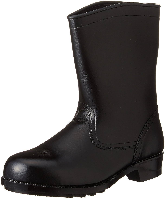 [エンゼル] 耐水耐油耐薬品靴 耐水耐油耐薬半長 AGS311  6B058 B0080CLBQC 23.5 cm|ブラック