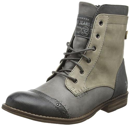Mustang 1157-523, Botines Para Mujer, Gris (202 Dunkelgrau/Grau), 39 EU: Amazon.es: Zapatos y complementos