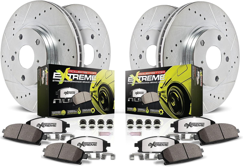 Power Stop K108-26 1-Click Street Warrior Z26 Brake Kit