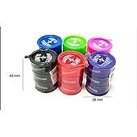 Flintstop Barrel O Slime Slimey Toys, Multi Color (Pack of 4)
