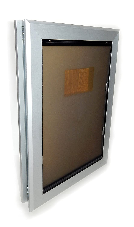 Large Large Aluminum Frame Dog Door (Dual Flap, Large)