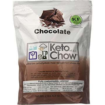 best Keto Chow Ultra Low Carb Meal Replacement Shake reviews