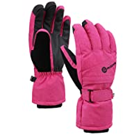 Women's Classic Zippered Pocket Touchscreen Ski Glove