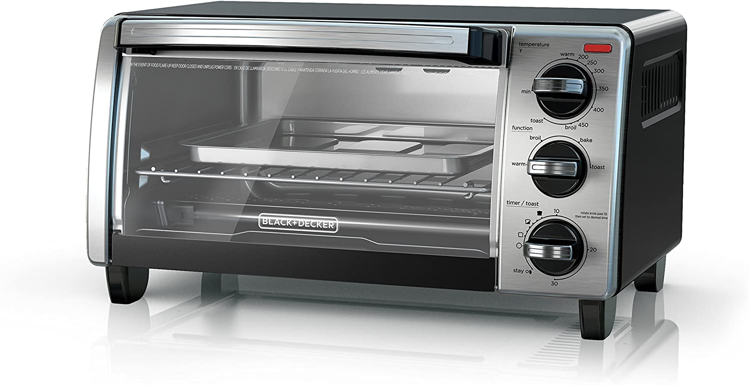 Black n Decker TO1750SB with Natural Convection
