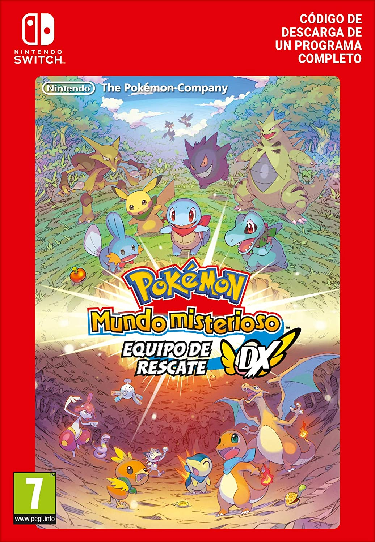 Pokémon Mundo misterioso: equipo de rescate DX Estándar | Nintendo ...