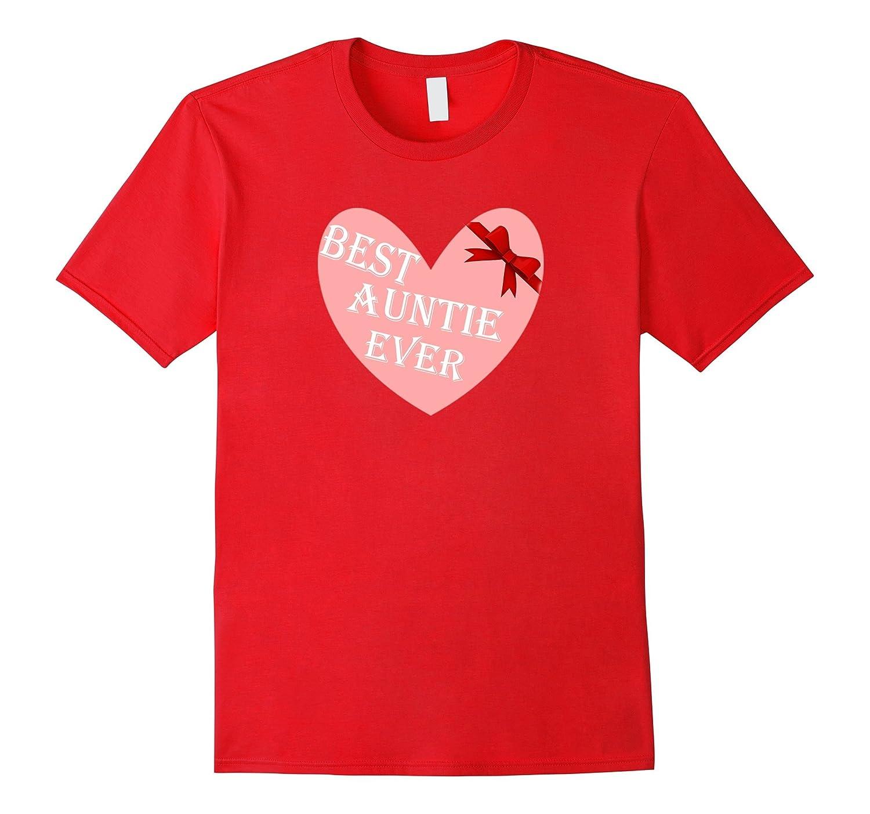 aunt gift best auntie ever tshirt-TH