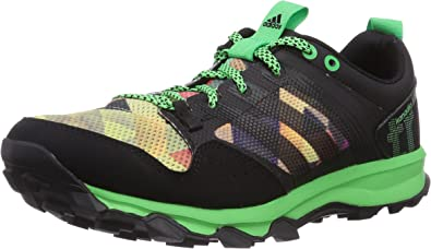 Adidas Kanadia 7 Trail, Zapatillas de Deporte para Hombre, Core Black Flash Green S15 Core Black, 41 1/3 EU: Amazon.es: Zapatos y complementos