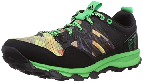 Adidas Kanadia 7 Trail, Zapatillas de Deporte para Hombre, Core Flash Green S15/Core Black, 43 1/3 EU: Amazon.es: Zapatos y complementos