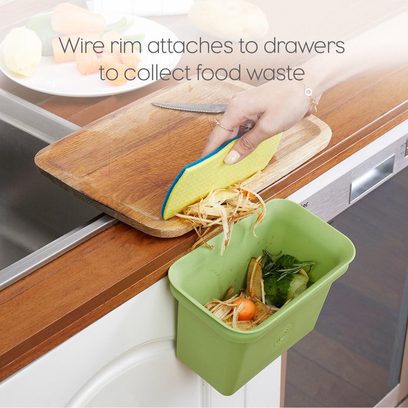 Amazon.com: Full Circle - Contenedor para restos de comida y ...