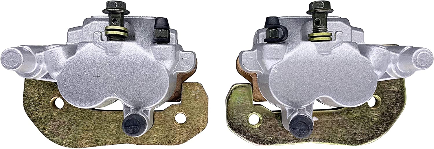 SHUmandala Front Brake Caliper Assy fit for Can-Am ATV Outlander 450 500 570 650 800R 850 1000 1000R EFI XMR DPS XT-P XT STD,XXC Renegade Replaces 705600861 705600862 MAX