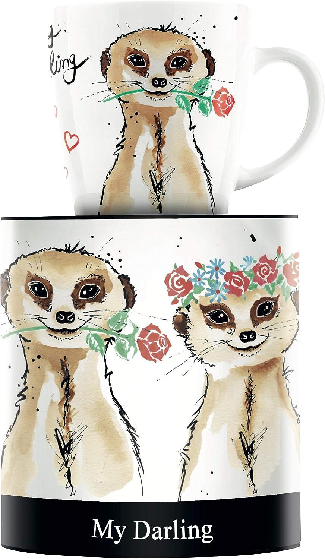 Ritzenhoff My Darling Design Kaffeebecher Becher Horst Haben Porzellan 300 ml