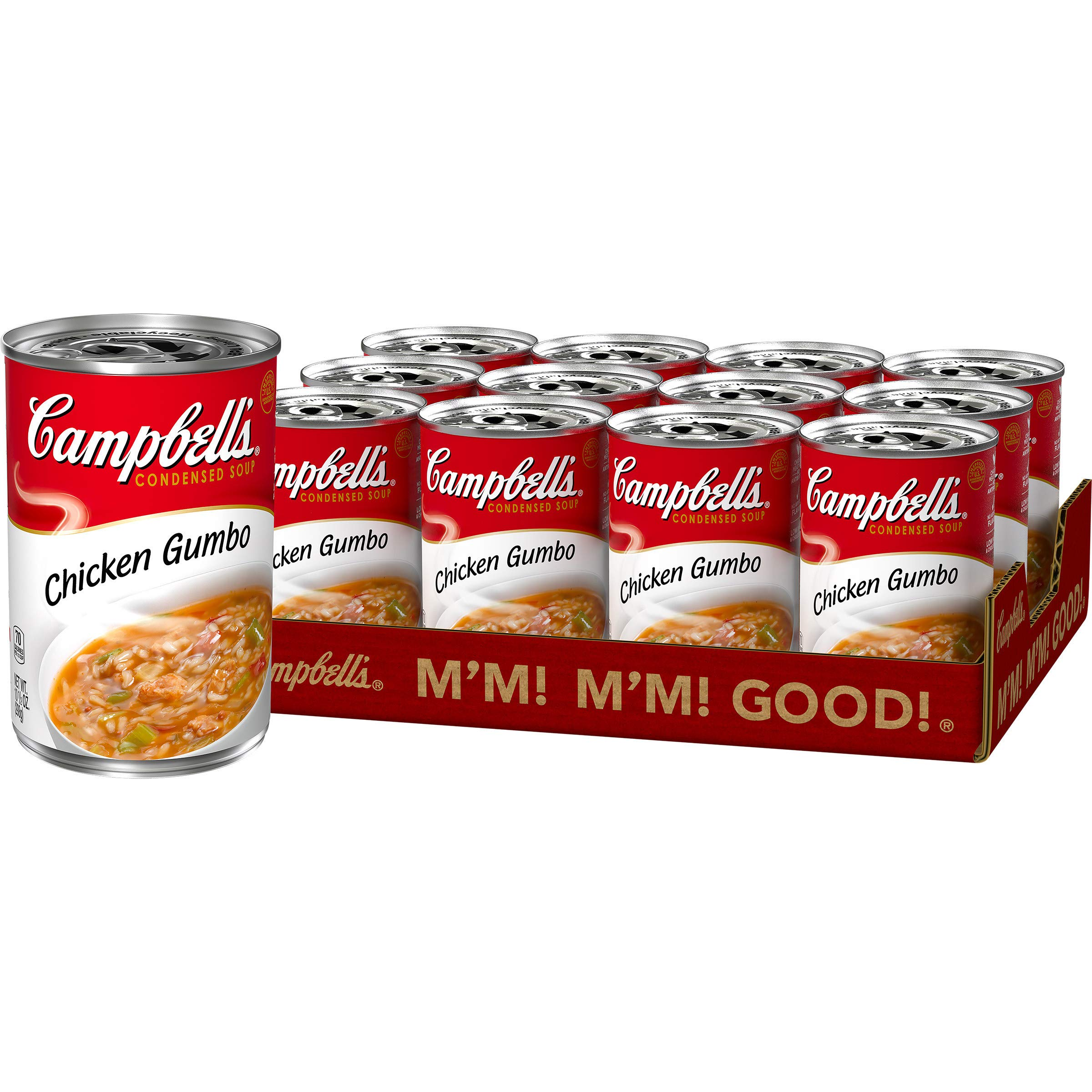 Campbell'sCondensed Chicken Gumbo Soup, 10.5 Ounce (Pack of 12)