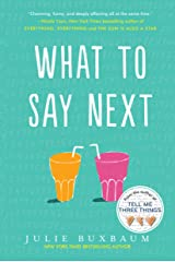 What to Say Next Kindle Edition