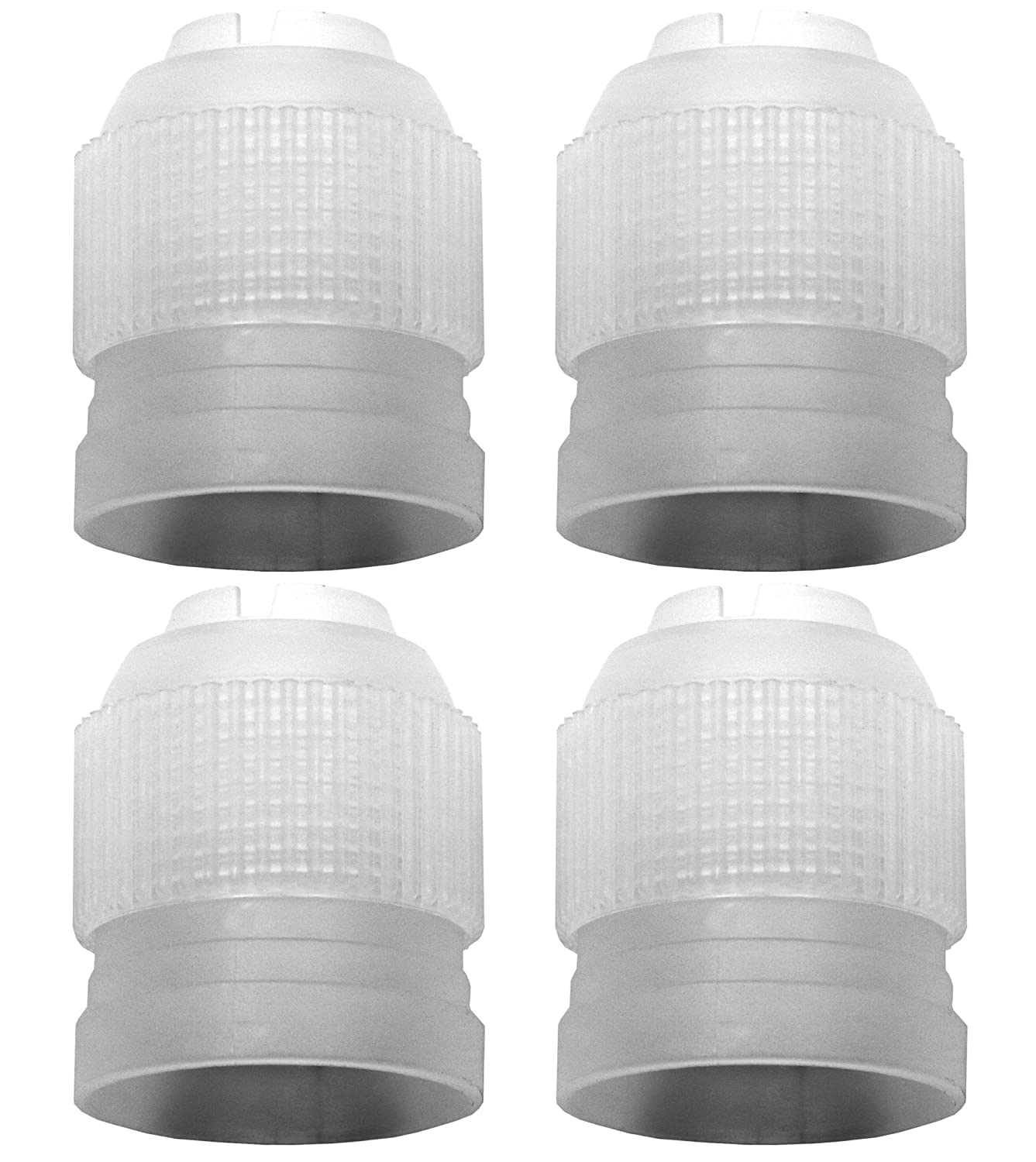 amazon com russian piping tip coupler by liveeco 4 pack for