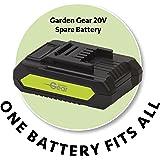Garden Gear Spare 20v Lithium Ion Battery